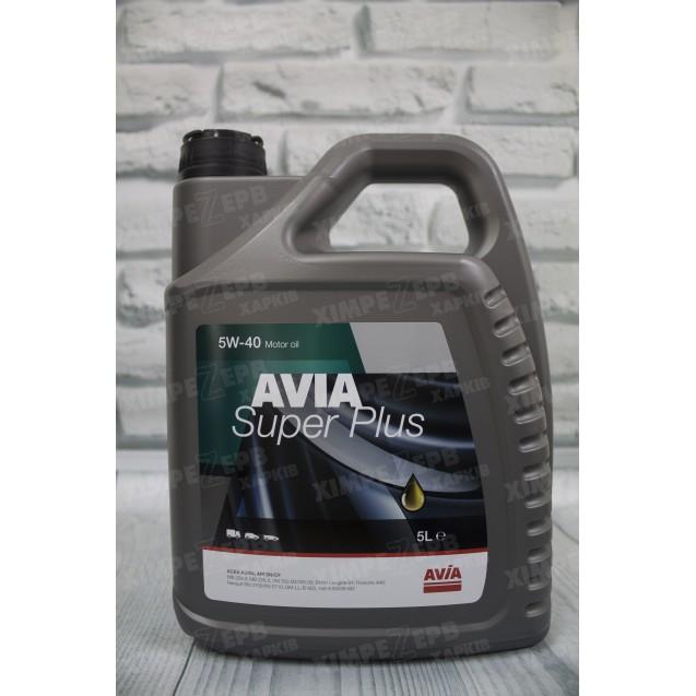 Моторна олива 5W-40 AVIA Super Plus