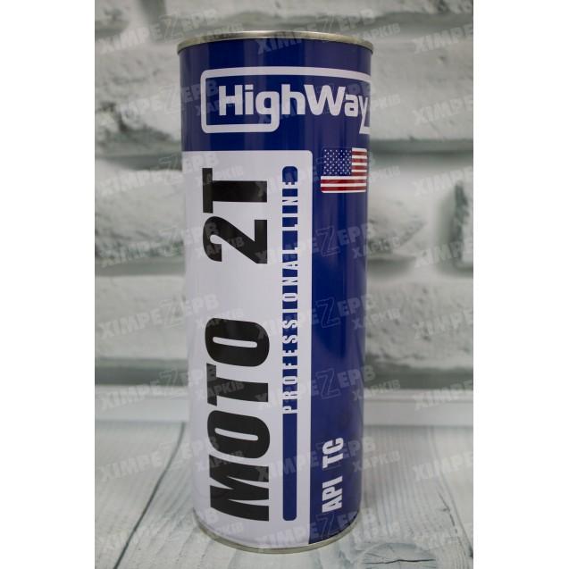 Олива моторна HighWay двохтактна 2T TC н/синт.