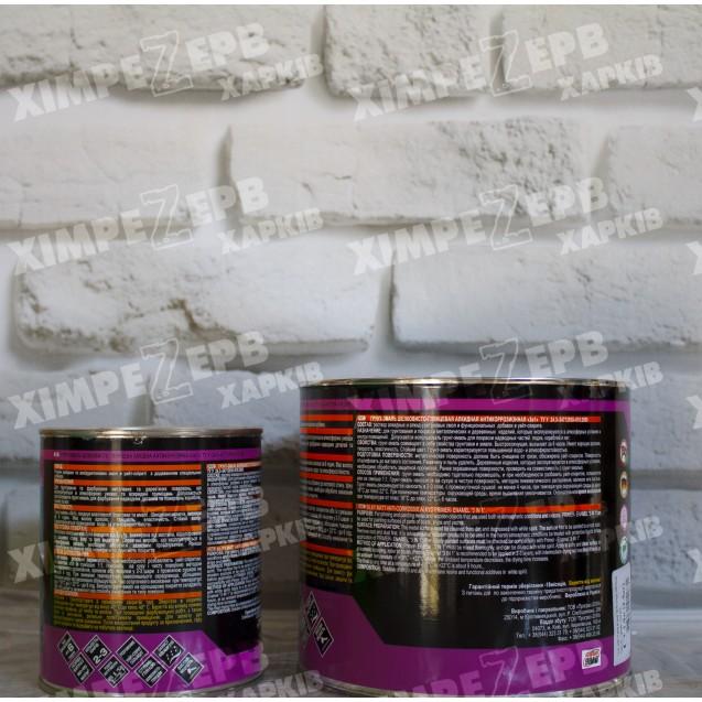 Грунт-емаль шовковисто-глянцева алкідна антикорозійна ''3 в 1''