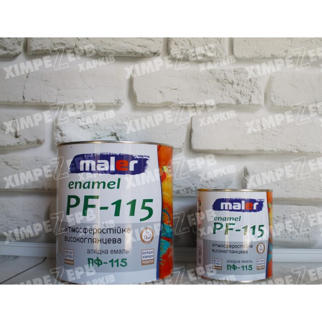 Емаль ПФ-115 MALER