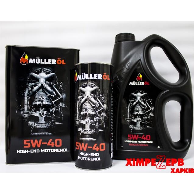 Олива моторна 5W-40 FS MULLEROL