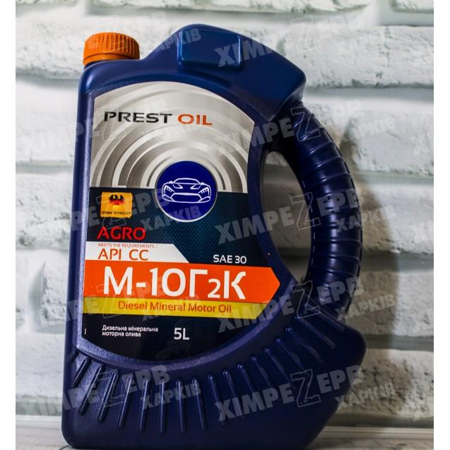 Олива моторна PREST OIL М10Г2К  5л