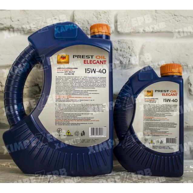 Олива моторна PREST OIL 15W-40 SG/CD
