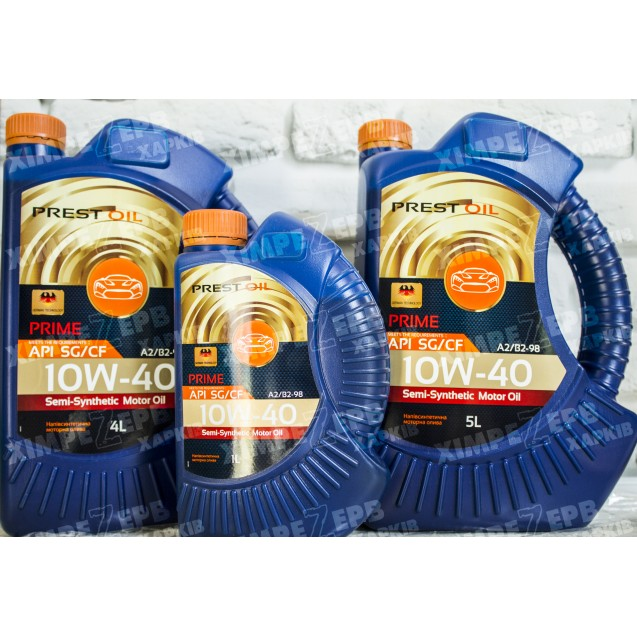 Олива моторна PREST OIL 10W-40 SG/CD