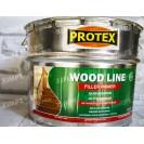 Лак порозаповнюючий Protex для паркету та деревини WOOD LINE