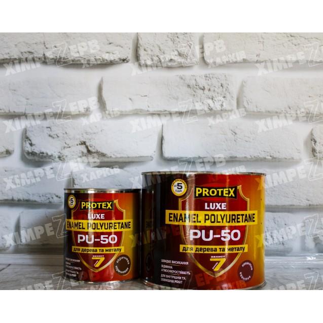 Емаль поліуретанова шовковисто-глянцева LUXE PU-50