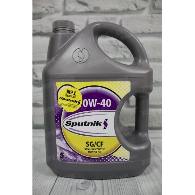 Моторна олива Sputnik 10W-40 SG/CF