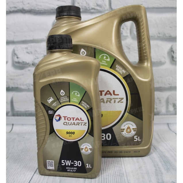 Моторна олива TOTAL Quartz 9000 NFC 5W30