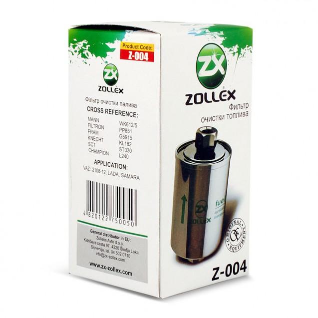 Фільтр паливний Z-004 ВАЗ 2110 (гайка)