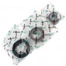 Підшипник маточини задній (комплект) Daewoo Lanos ZPS-3255