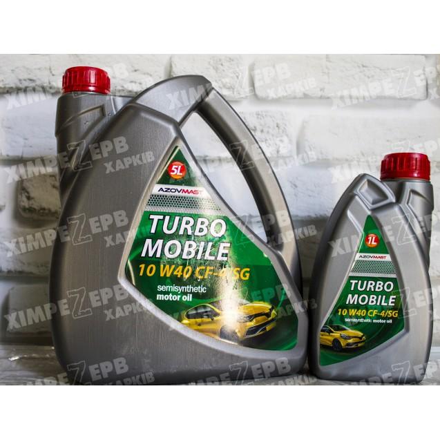Моторна олива Turbo Mobile кан. (10W-40)
